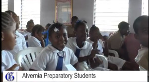 students from alvernia prep